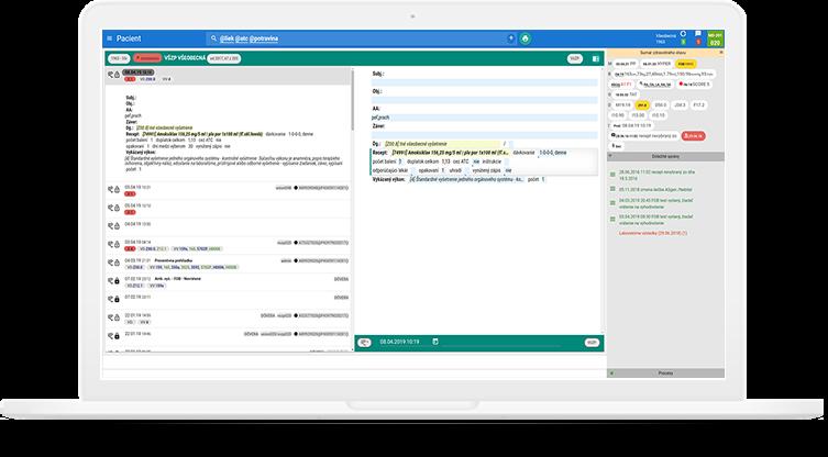 Ambulatný softvér CURO je integrovaný so službami VIPTel