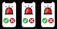 Notifikácia požiarnikov