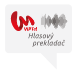 Speech to text a text to speech hlasový prekladač VIPTel